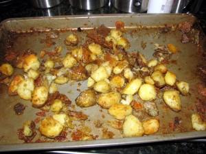 roast potatoes