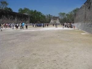 ancient ball court