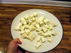 frozen mozzarella