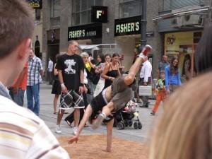 breakdancer in Vienna