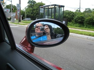 me in the convertible