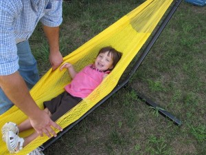 grace in the hammock