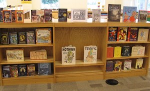 new books display