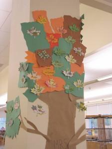 library tree closeup fall 09