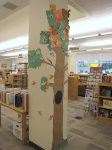side view library tree fall 09