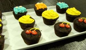 pac man cupcakes 2