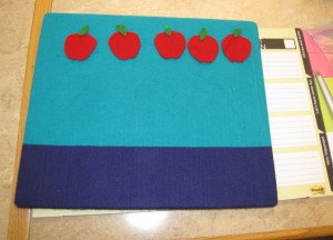 apple flannelboard