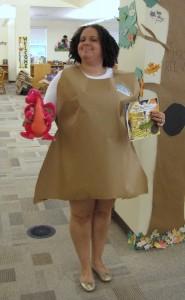 me as paper bag princess