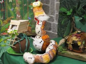 snake pumpkin