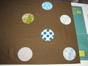 circle quilt start