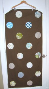 circle quilt pieced