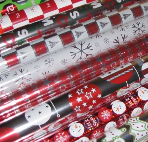 2009 wrapping paper