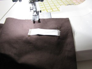 sewing loops
