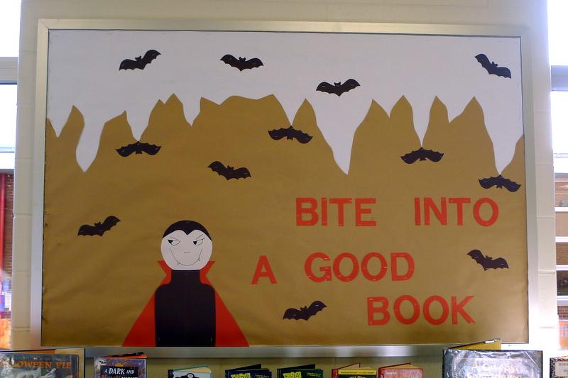 Halloween Bulletin Board | Jackie Reeve