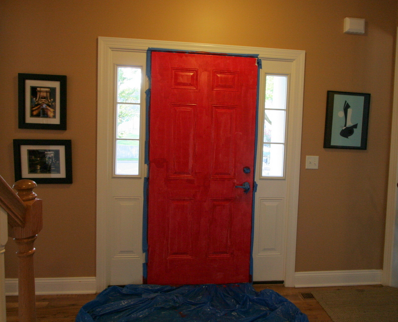 We Have A Red Front Door Jackie Reeve