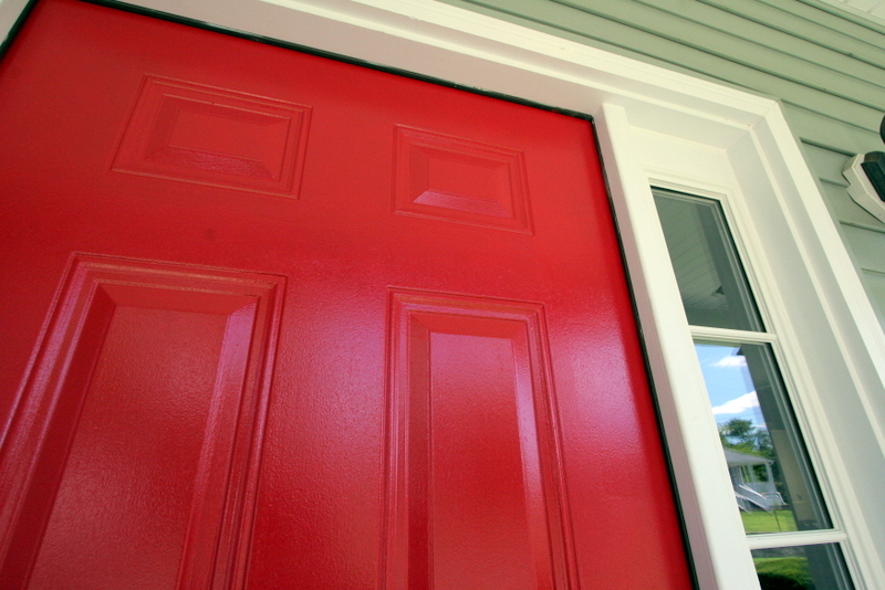 I ... & We Have a Red Front Door! | Jackie Reeve