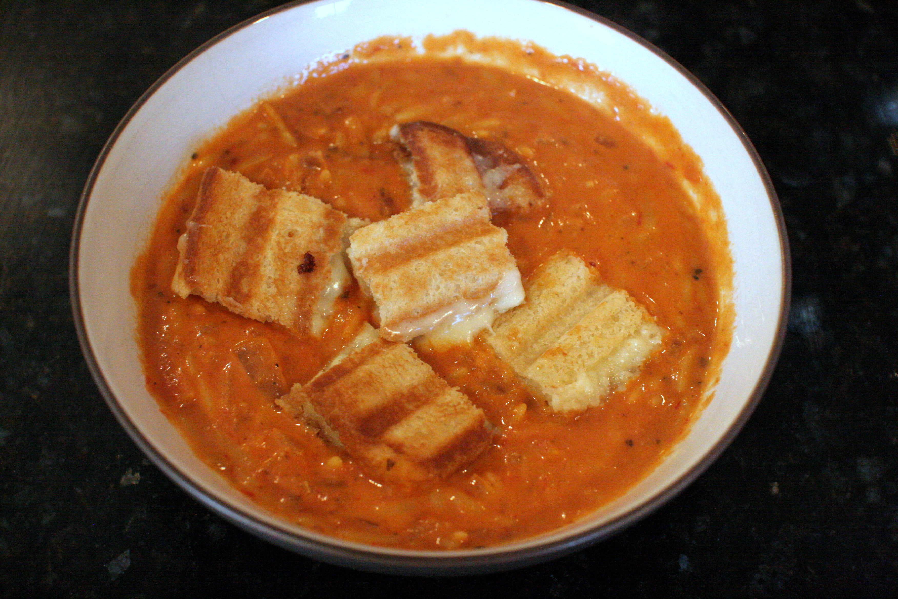 Ina Garten Soup Soup Week Day 5 Ina Garten's Easy Tomato Soup With Grilled Cheese