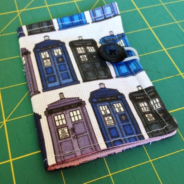 TARDIS Tea Wallet