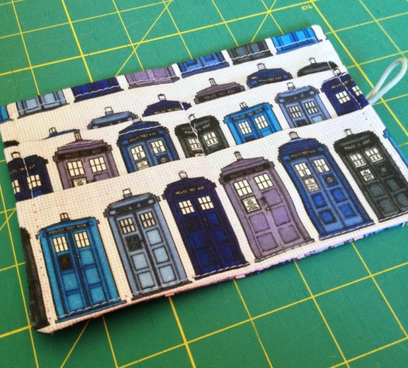 TARDIS Tea Wallet #2