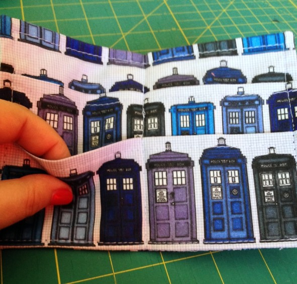 TARDIS Tea Wallet #3