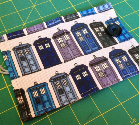 TARDIS Tea Wallet #4