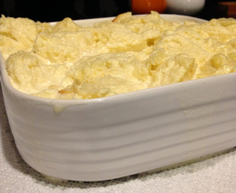 Vanilla Ice Cream Bread Pudding 6