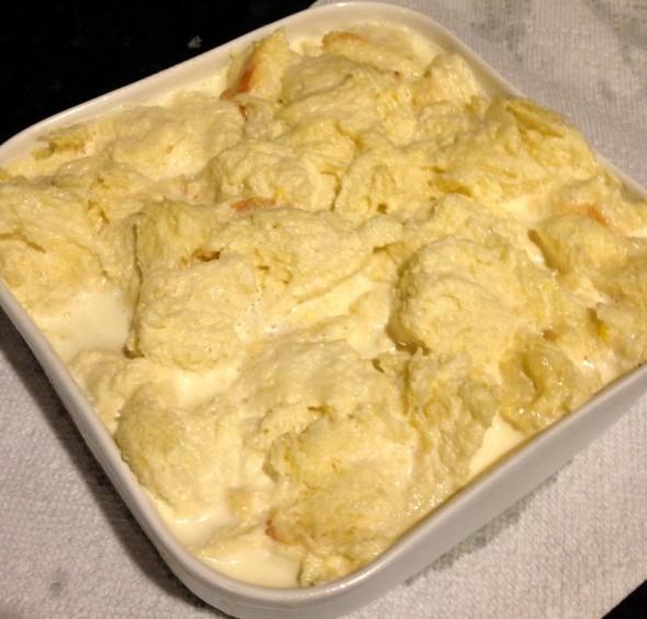 Vanilla Ice Cream Bread Pudding #5
