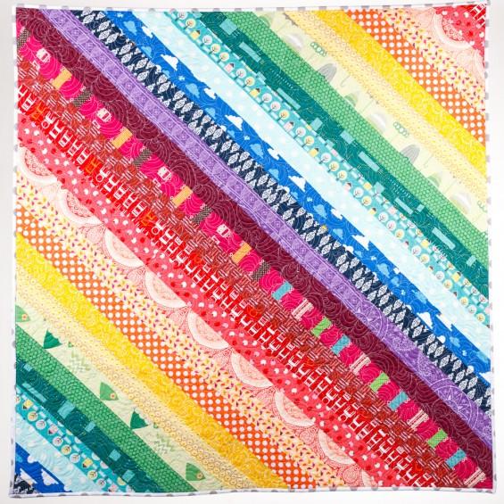 Double Rainbow Quilt