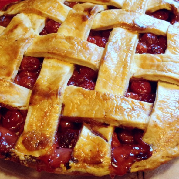 sour cherry pie 2