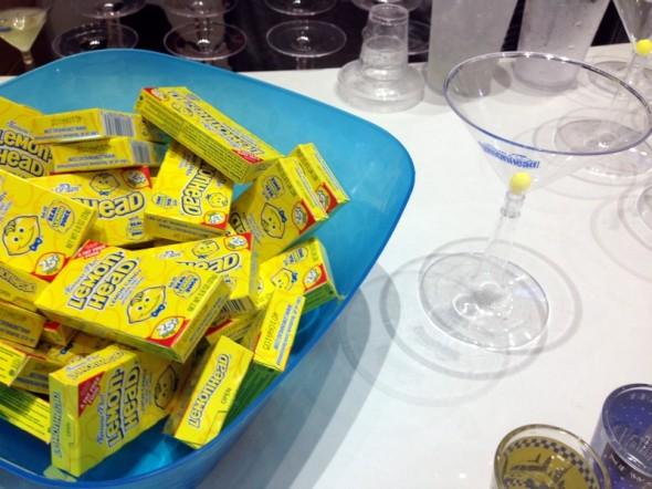 Lemonheads martini