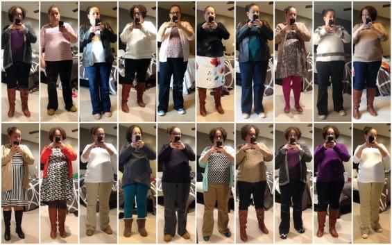 November 2014 Outfits