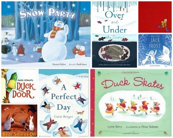Winter Books Pre-K K 2015