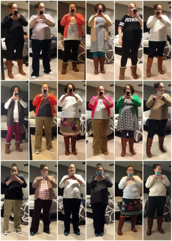 January 2015 Outfits