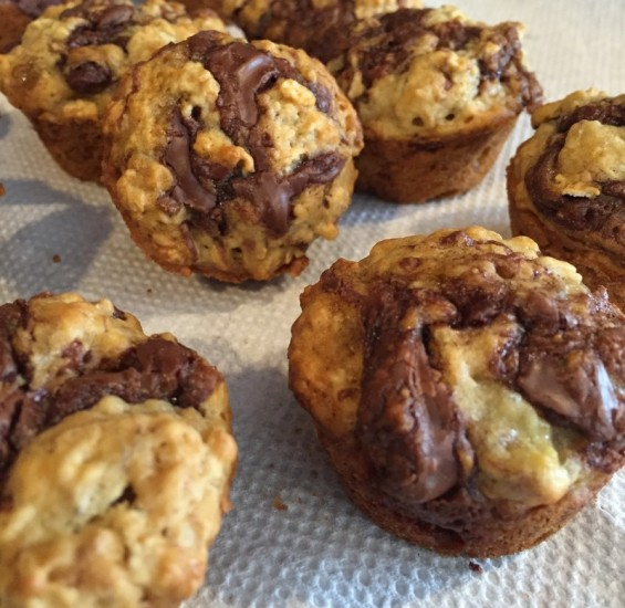 mini nutella muffins 10
