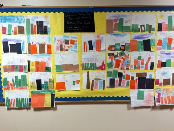 ezra jack keats collages