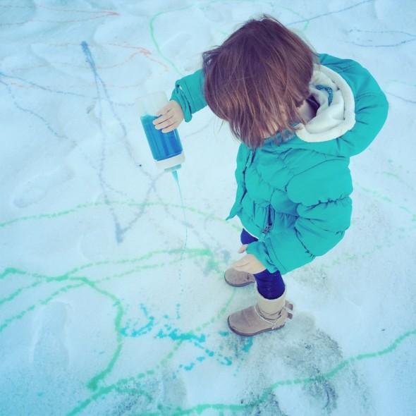 snow painting 4