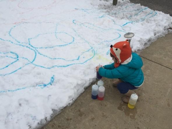snow painting 3