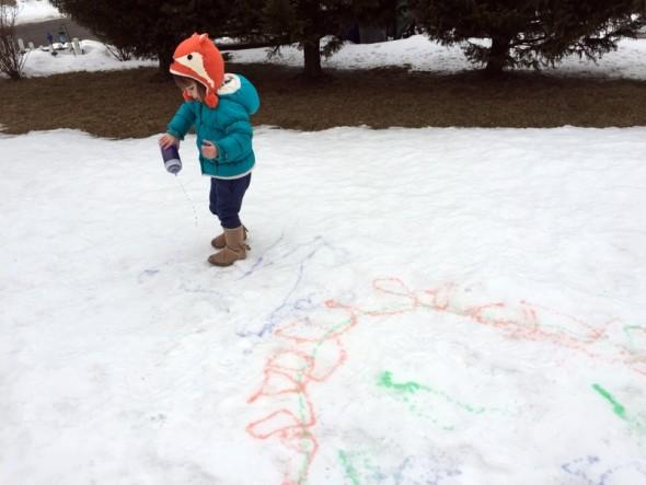 snow painting 2