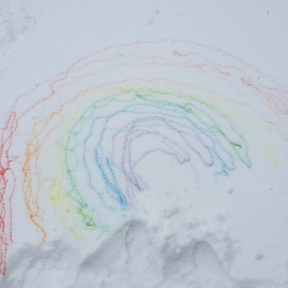 snow paint 7
