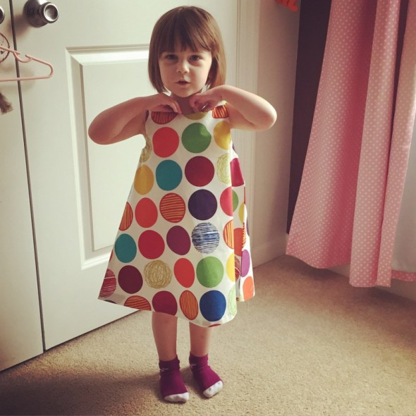 stof dots dress 2