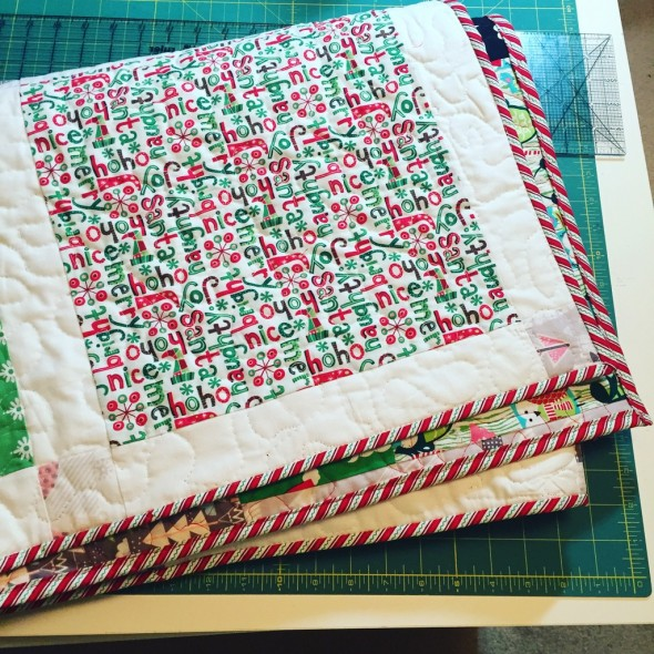 christmas quilt 5