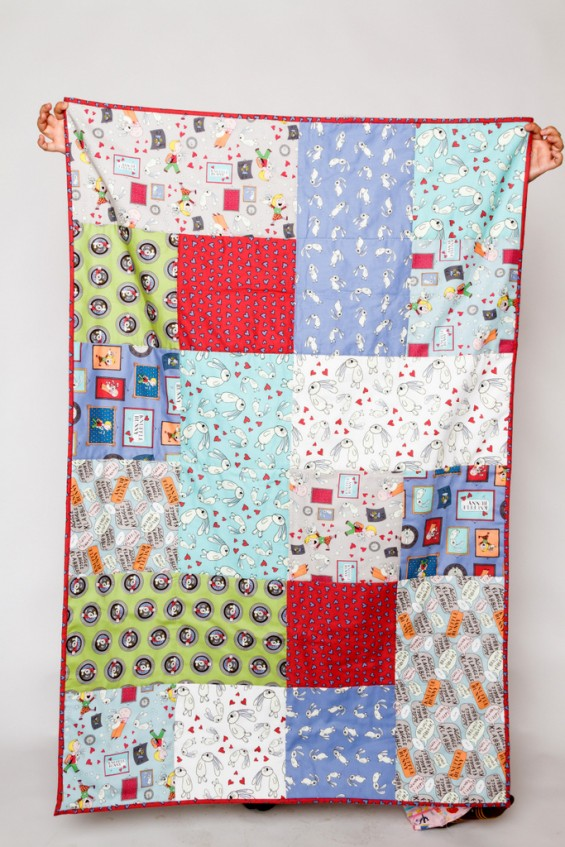 Knuffle Bunny Quilt
