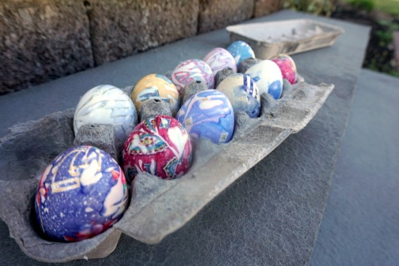 silk tie easter eggs 1