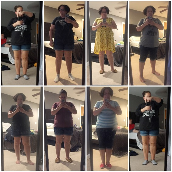 August 2016 Outfits